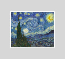 The Starry Night by Vincent van Gogh Artblock