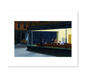 Edward Hopper, Nighthawks, 1942, Fine Art Print in 4 sizes by 2020ArtSolutions