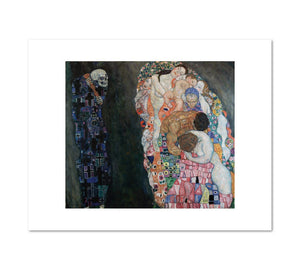 Death and Life by Gustav Klimt Archival Print