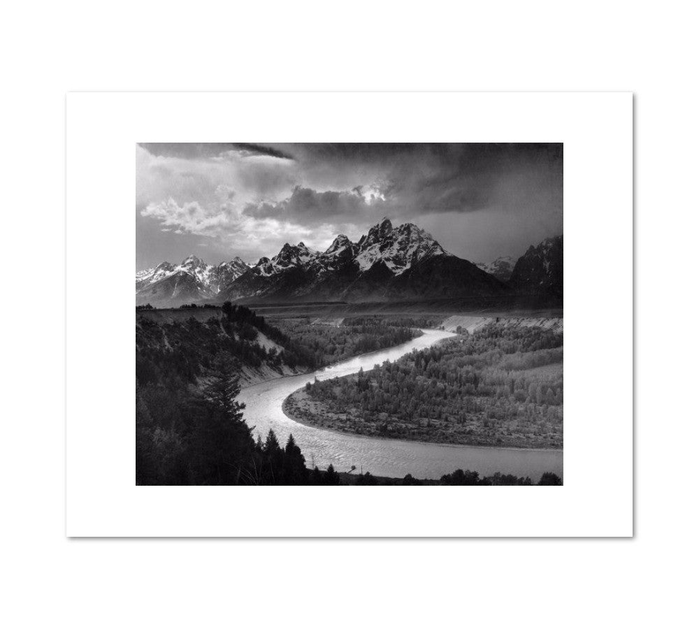 The Tetons and the Snake River by Ansel Adams Archival Print