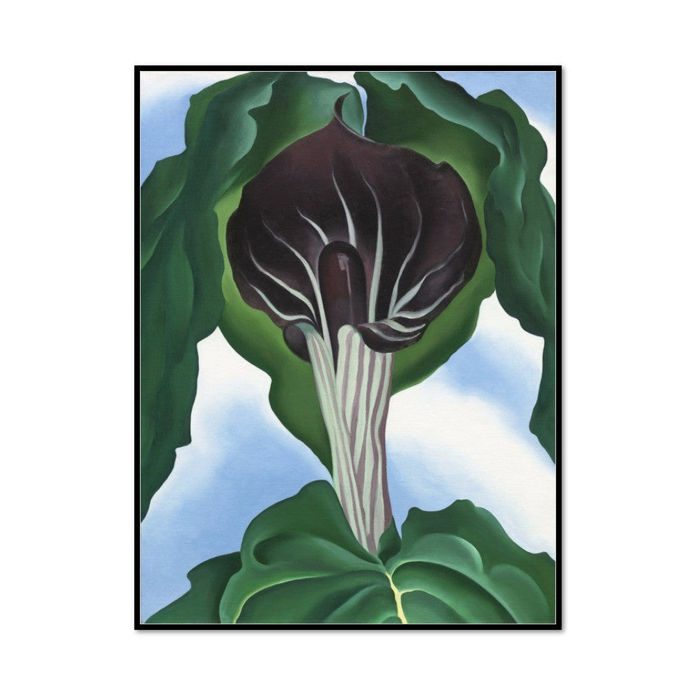 Jack-in-the-Pulpit No. 3 by Georgia O'Keeffe Artblock