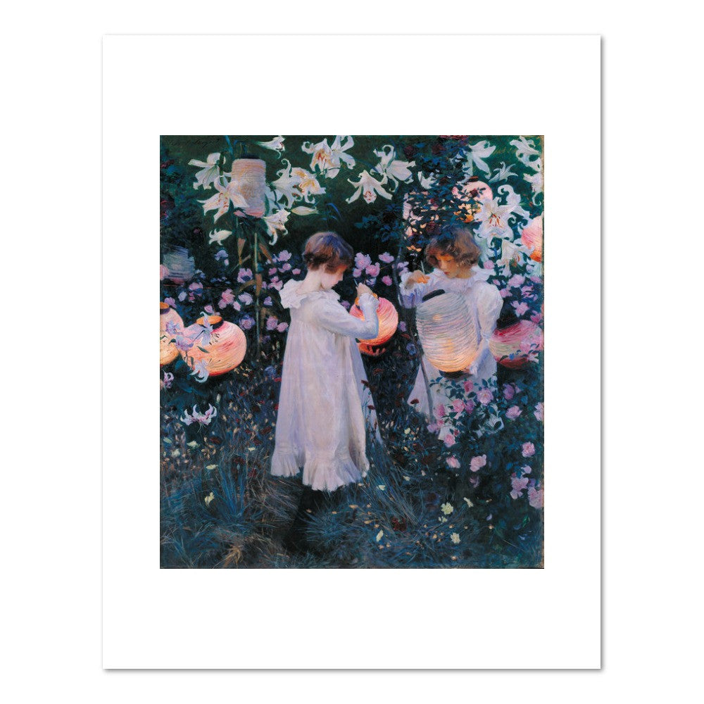 Carnation, Lily, Lily, Rose by John Singer Sargent Archival Print