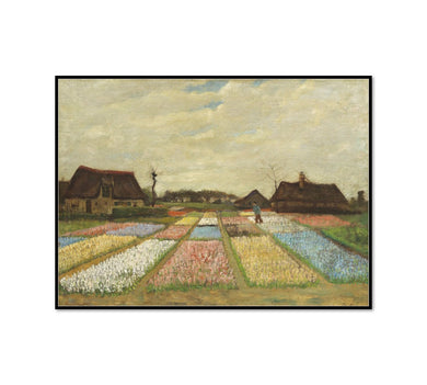 Flower Beds in Holland by Vincent van Gogh Artblock