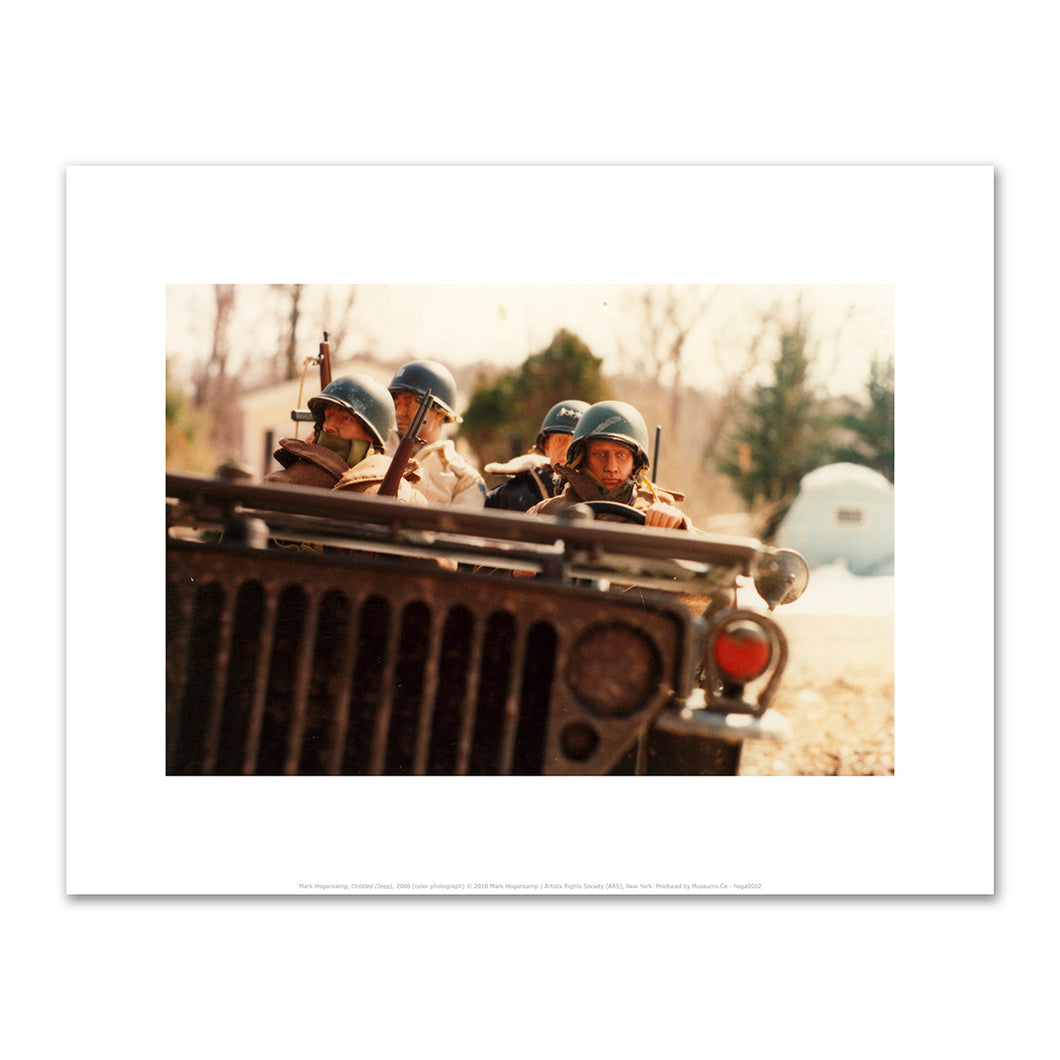 Mark Hogancamp, Untitled (Jeep), 2006, Fine Art Prints in 4 sizes by 2020ArtSolutions
