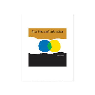 Leo Lionni, Little Blue and Little Yellow book cover, Prints at 2020ArtSolutions