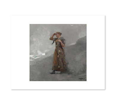 Winslow Homer, The Fisher Girl, 1894, Fine Art Prints in various sizes by Museums.Co