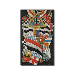 Marsden Hartley, Portrait of a German Officer, 1914, Artblock in 3 sizes by 2020ArtSolutions