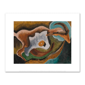 Arthur Dove, Goat, 1935, Art Prints in 4 sizes by 2020ArtSolutions