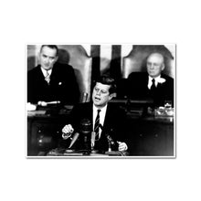 Kennedy Giving Historic Speech to Congress
