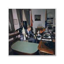 Halloween Visitors to the Oval Office