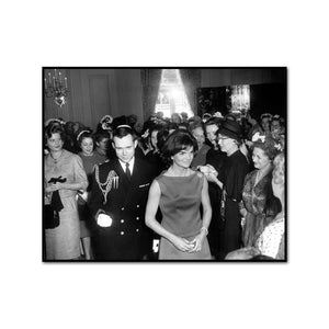 First Lady Jacqueline Kennedy Greets Guests