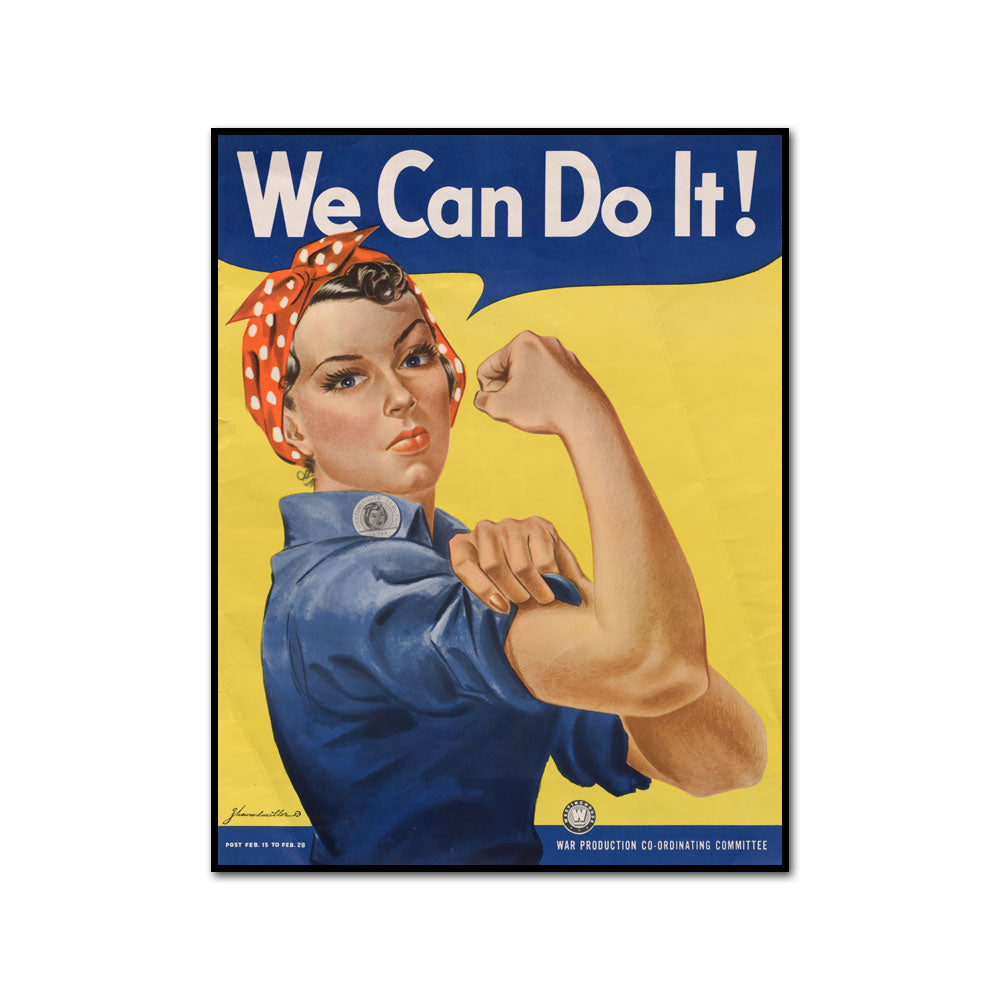 We can Do It! by J. Howard Miller Artblock