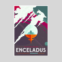 Visit Beautiful Southern Enceladus Artblock