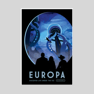 Europa: Discover Life under the Ice Artblock