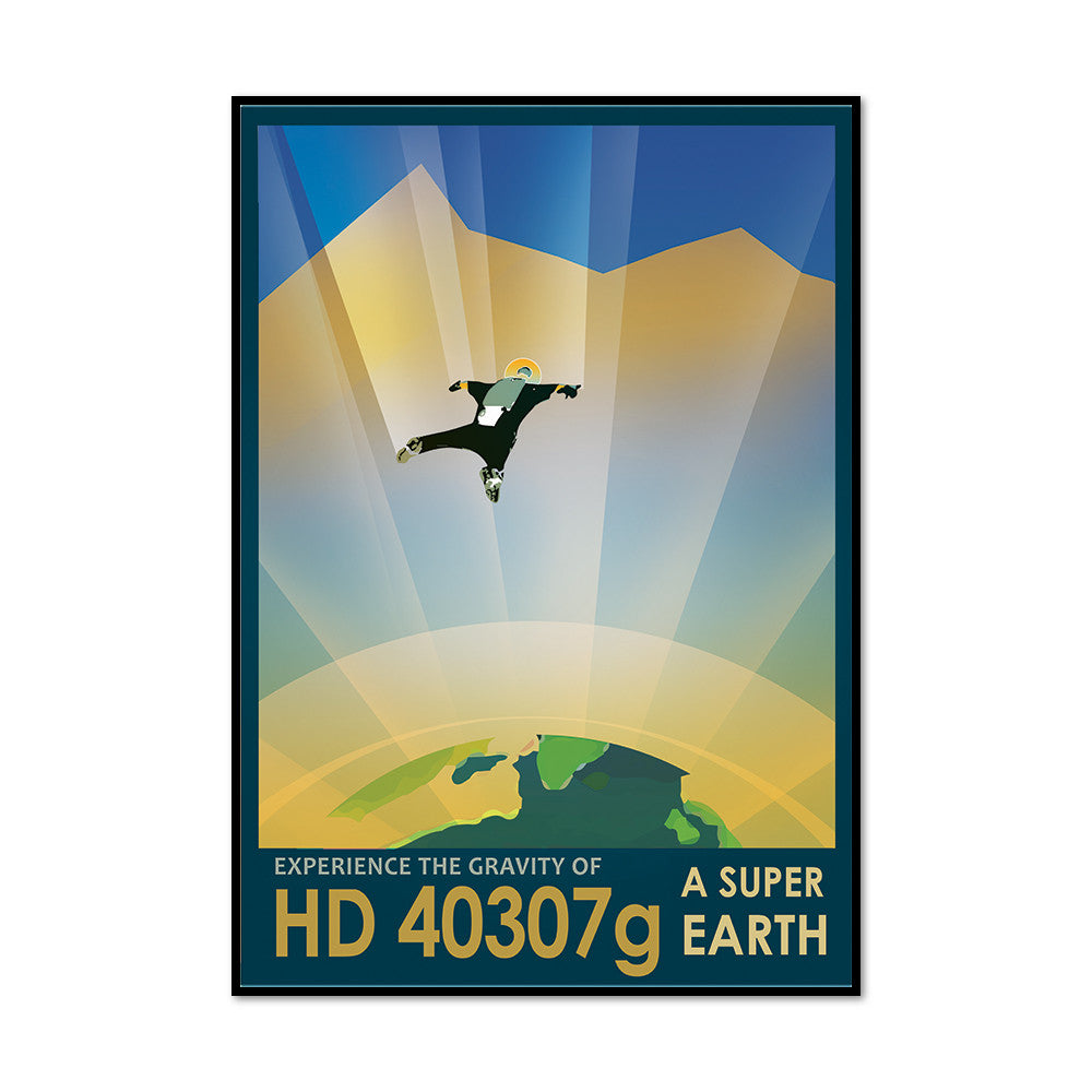 Experience the Gravity of HD 40307g: A Super Earth Artblock