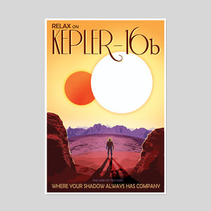 Relax on Kepler-16b Artblock