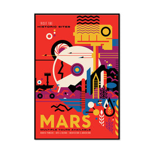 Mars: Multiple Tours Available Artblock
