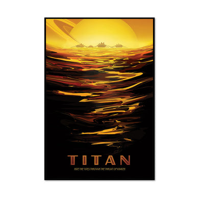 Titan: Ride the Tides Through the Throat of Kraken Art Block
