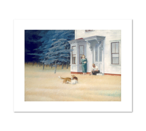 Cape Cod Evening by Edward Hopper Archival Print