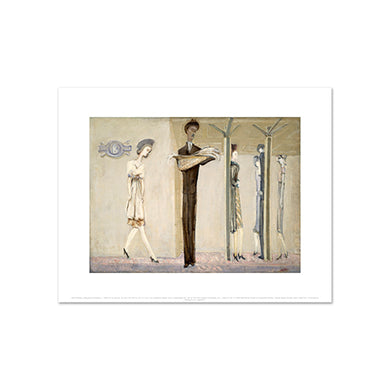 Underground Fantasy by Mark Rothko, Art Print in 4 sizes by 2020ArtSolutions