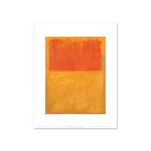 Orange and Tan by Mark Rothko, Art Print in 4 sizes by 2020ArtSolutions