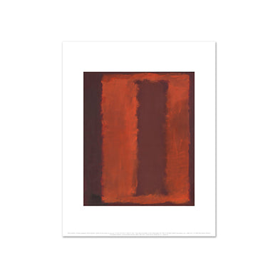 Untitled (Seagram Mural sketch) by Mark Rothko, Art Print in 4 sizes by 2020ArtSolutions