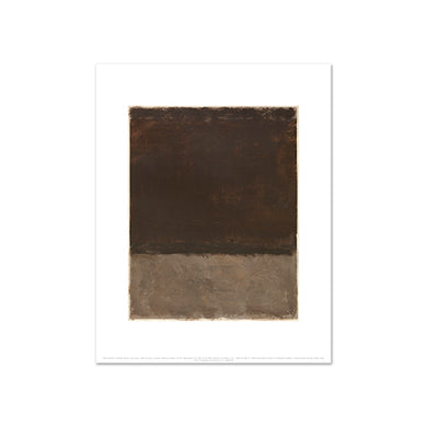 Untitled (Brown and gray) by Mark Rothko, Art Print in 4 sizes by 2020ArtSolutions