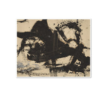 Franz Kline, Untitled, 1950s, Framed Art Print with white frame in 3 sizes by 2020ArtSolutions