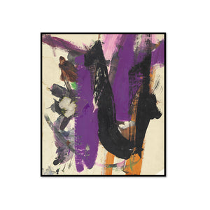 Franz Kline, Untitled, possibly 1960, Framed Art Print with black frame in 3 sizes by 2020ArtSolutions