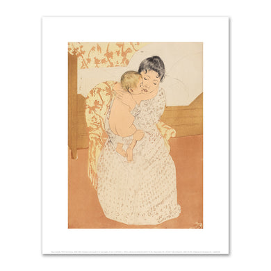 Mary Cassatt, Maternal Caress, Fine Art Prints in various sizes by Museums.Co