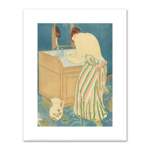 Mary Cassatt, Woman Bathing, 1890-1891, Fine Art Prints in 4 sizes by 2020ArtSolutions