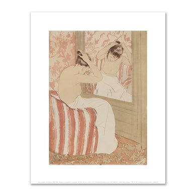 Mary Cassatt, The Coiffure, 1890-1891, Fine Art Print in 4 sizes by 2020ArtSolutions