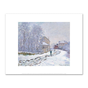 Claude Monet, Snow in Argenteuil, The National Museum of Western Art, Tokyo, Japan - 2020ArtSolutions