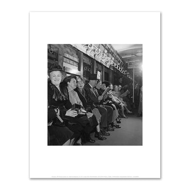 Unknown, IRT Subway Scene, ca. 1940s, Art Prints in 4 sizes by 2020ArtSolutions
