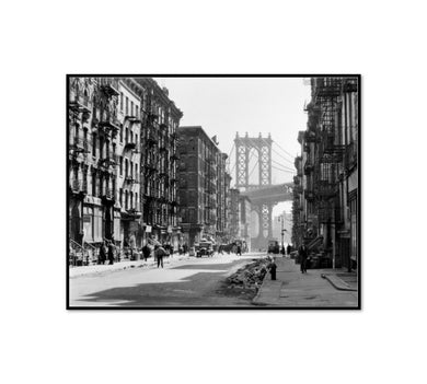 Pike and Henry Streets, Manhattan by Berenice Abbott Artblock