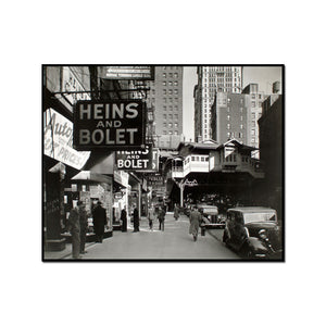 Radio Row, Cortlandt Street, Manhattan by Berenice Abbott Artblock