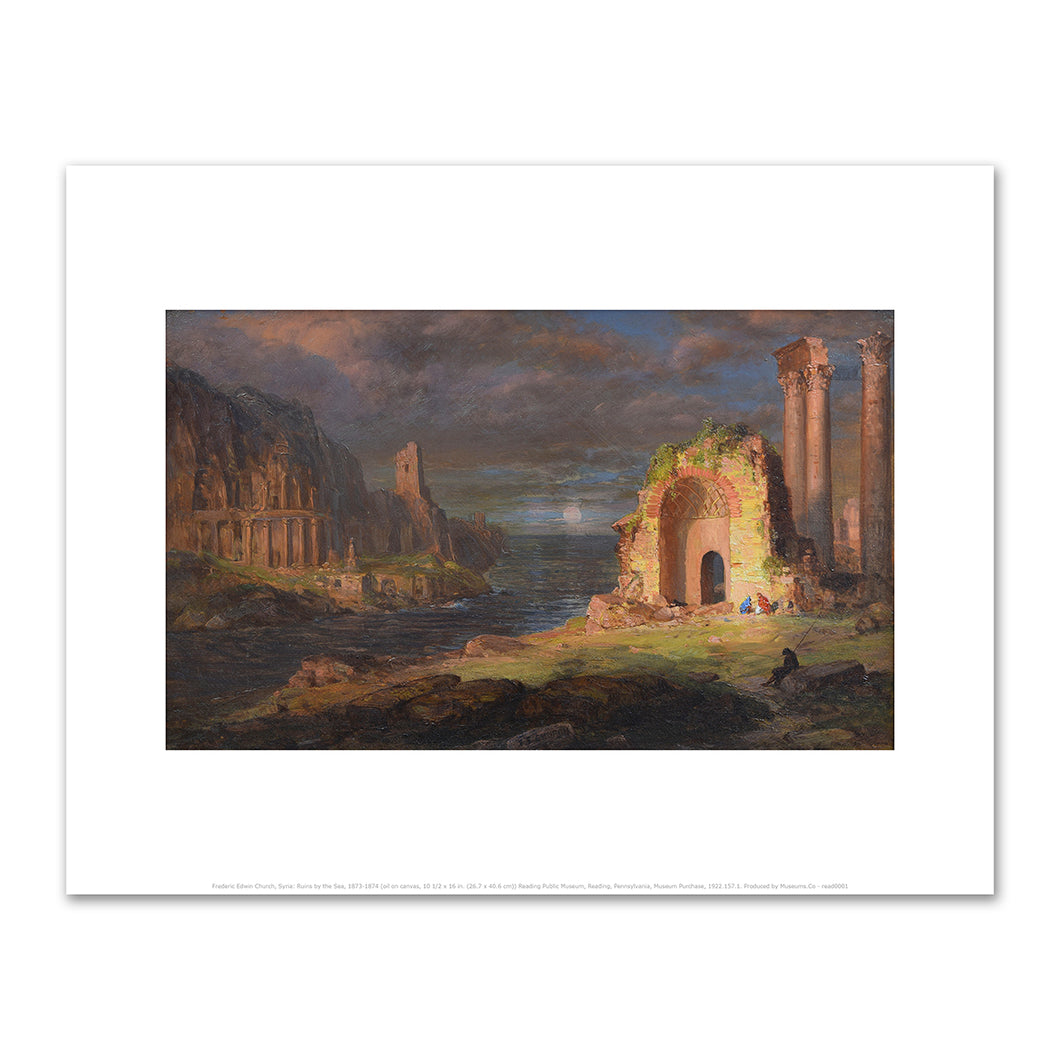 Frederic Church, Syria Ruins by the Sea, Reading Public Museum, 2020ArtSolutions