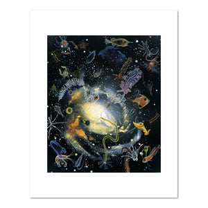 Alexis Rockman, Biosphere: Hydrographer's Dream, 1994, Fine Art Print in 4 sizes by 2020ArtSolutions