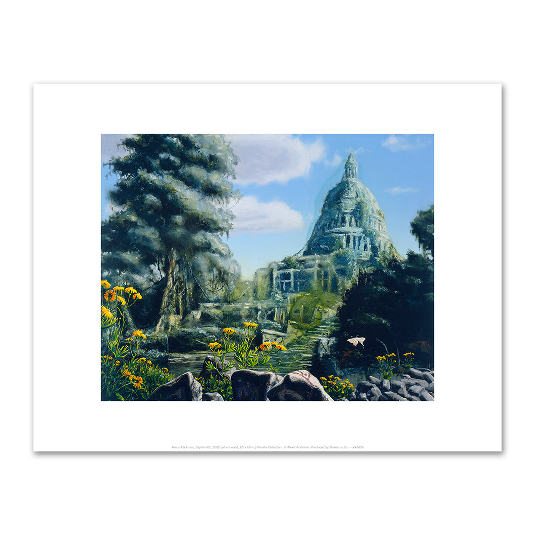 Alexis Rockman, Capital Hill, 2005, Fine Art Print in 4 sizes by 2020ArtSolutions