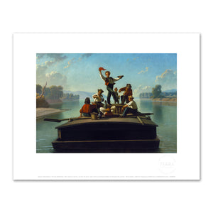 George Caleb Bingham, The Jolly Flatboatmen, 2020ArtSolutions