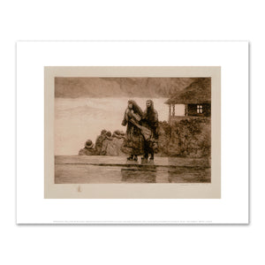 Winslow Homer, Perils of the Sea (full sheet), Art Print in 4 sizes by 2020ArtSolutions