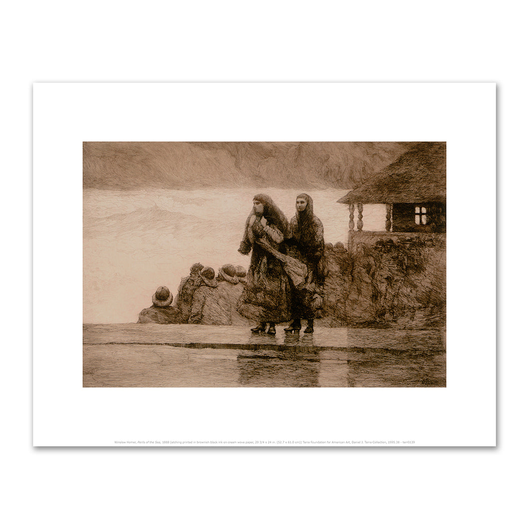 Winslow Homer, Perils of the Sea, 1888, Art Print in 4 sizes by 2020ArtSolutions
