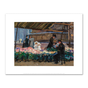 Jane Peterson, Marché aux Fleurs, art prints in various sizes by 2020ArtSolutions