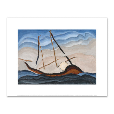 Arthur Dove, Boat Going Through Inlet, c. 1929, Art Prints in 4 sizes by 2020ArtSolutions