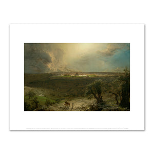 Frederic Edwin Church, Jerusalem from the Mount of Olives, 2020ArtSolutions