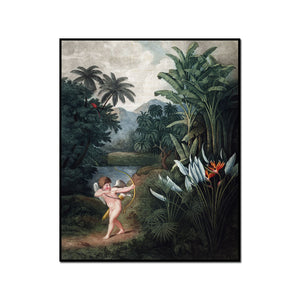 Cupid Inspiring Plants with Love by Robert John Thornton Artblock