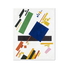 Kazimir Malevich, Suprematist Composition, Framed Art Print in white frame by 2020ArtSolutions