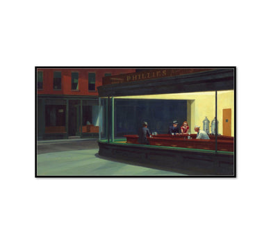 Nighthawks by Edward Hopper Artblock