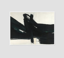 Franz Kline, Ravenna, 1961, Framed Art Print with white frame in 3 sizes by 2020ArtSolutions