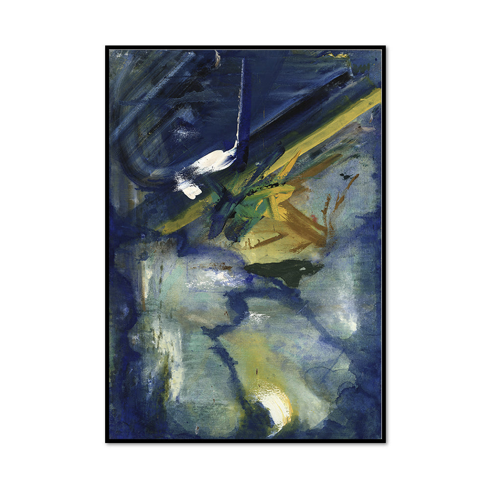 Franz Kline, Untitled, 1955-1962, Framed Art Print with black frame in 3 sizes by 2020ArtSolutions